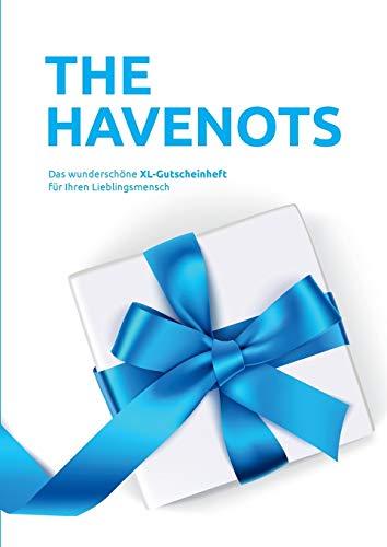 the havenots: Das wunderschöne XL-Gutscheinheft für ihren Lieblingsmensch!