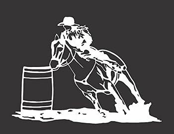 Best barrel racing decals Reviews