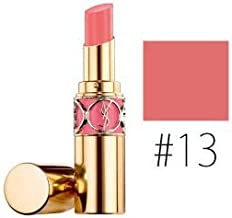 Yves Saint Laurent Rouge Volupte Shine Lipstick for Women, 13 Pink In Paris, 0.15 Ounce