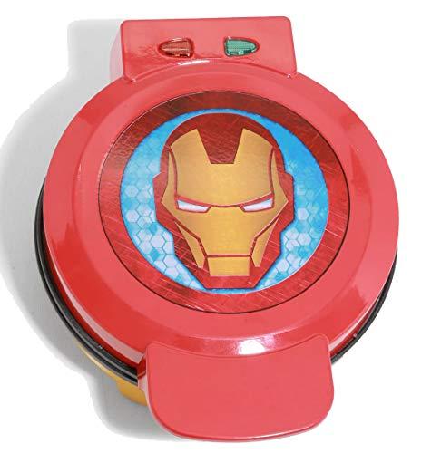Marvel Iron Man Waffle Maker -Shellhead's Helmet on Your Waffles- Waffle Iron