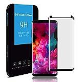 Galaxy S8 ガラスフィルム TALENANA Galaxy S8 フィルム 3D全面保護 スマホカバー ギャラクシーS8【日本製造した板ガラス】 3D Touch対応/硬度9H/飛散防止/高透過率/指紋防止/気泡ゼロ (Galaxy S8)
