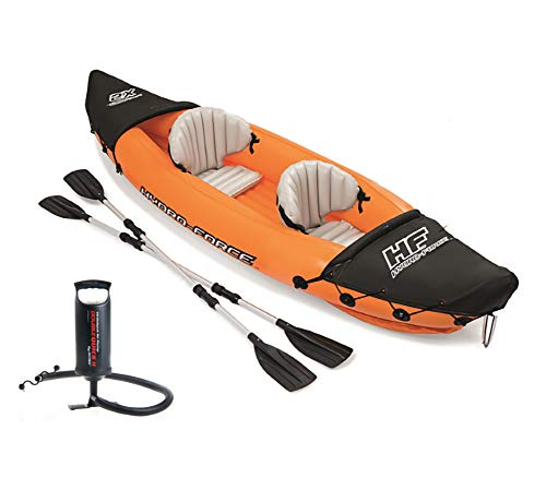 Flydem Inflatable Kayak,Fishing Kayak, 2-Person Kayak,Touring Kayaks,Sport Kayak Canoe Boat,…