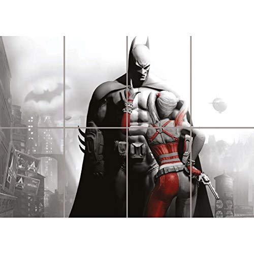 Doppelganger33 LTD Batman and Harley Quinn Poster