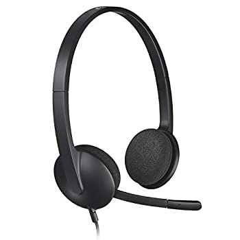 Logitech USB Headset H340 Stereo USB Headset for Windows and Mac - Black