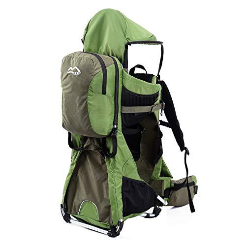 MONTIS Ranger Pro - Mochila portabebés - hasta 25 kg (Verde