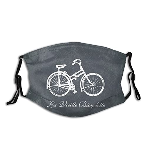 Hustor Old Bike Cloth Face Ma_sk Washable Reusable and Adjustable Face Co_ver Suitable for Men Women Adult