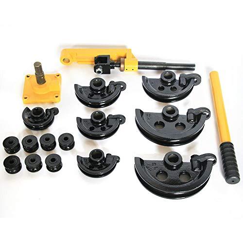 Curvadora manual para tubos de alto rendimiento, curvadora manual de tuberías, curvadora de tubos de 10-25 mm