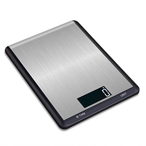 Keukenweegschaal Kitchen Scale RVS keuken elektronische schaal gebakken voedsel elektronisch schaal