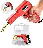 Soldadura de plástico Máquina Kit de reparación de parachoques de coche, 50W calientes Grapadoras Soldadura Reparando Máquina,plástico soldadura reparación Kit para coche parachoques/coche piezas