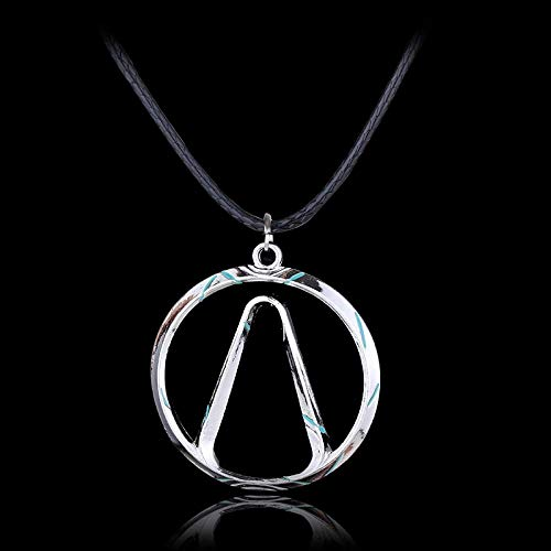 NC122 Game Series Necklace Symbol Choker Pendant Necklace Fashion Jewelry Hollow Sweater Torque