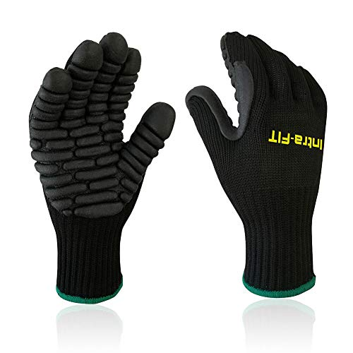 Intra-FIT Anti Vibration Work Gloves, Shock Proof Impact Reducing Safety Gloves