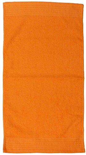 日本ユーテンシル 防炎タオル 日本製 綿100% テフキー オレンジ L 34×65cm KQS0855472