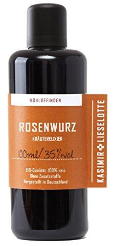 Rosenwurz Tinktur 100 ml - Die Anti Stress Pflanze aus regionaler Handarbeit