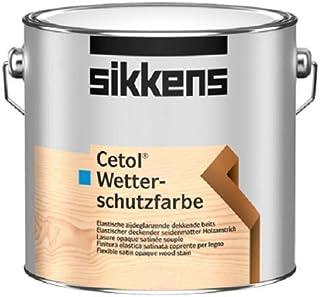 Sikkens Cetol Wetterschutzfarbe Base W05 Weiß 10 Liter leichte Beule