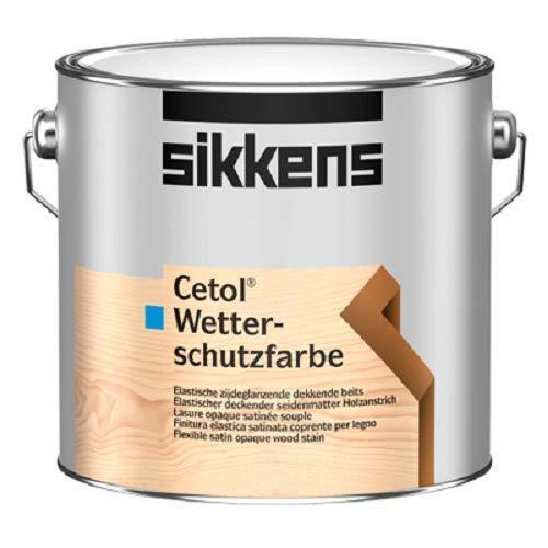 Sikkens Cetol Wetterschutzfarbe Base W05 Weiß 10 Liter (leichte Beule)