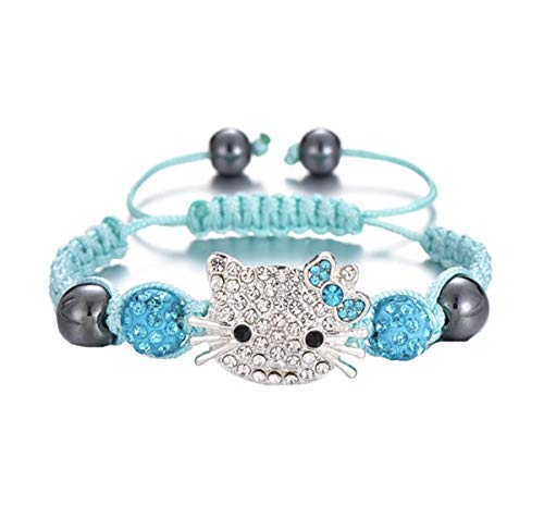 WAY2BB - Bracciale Shambala Hello Kitty blu