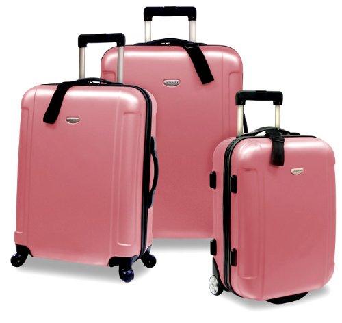 Traveler's Choice Freedom Lightweight Hardshell Rolling Luggage Set