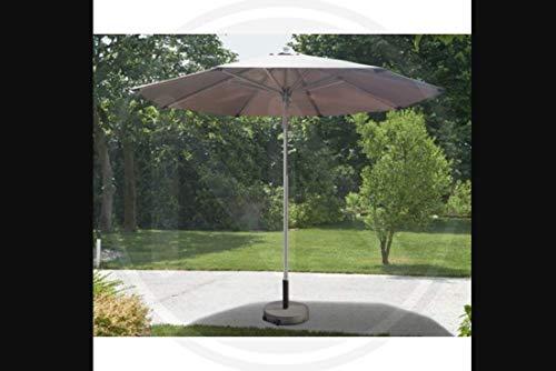 Sombrilla redonda de aluminio Alvor Papillon 3 m