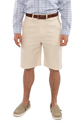 Linen shorts as a perfect linen 4th anniversary gift for men