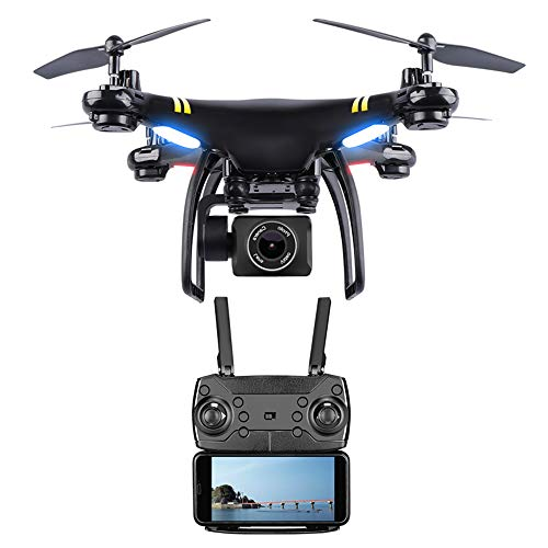 Drone con 110 ° 1080P HD Camera Video Live Quadcopter ad Alta velocità di Resistenza al Vento con 5.8G Schermo LCD Trasmettitore in Tempo Reale