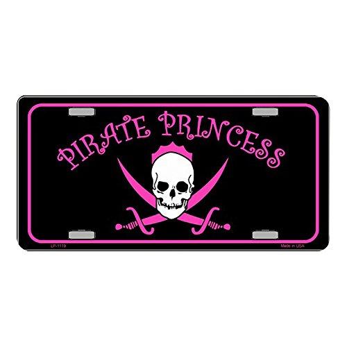 LP - 1119 Piraten-Prinzessin Nummernschild - X325