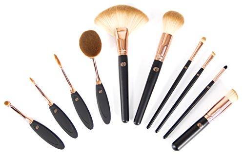 Rio Lot de brosse Cosmétique professionnelle de l'artiste de maquillage