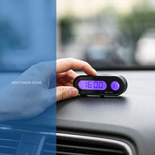 Hinder 2 in 1 Car Clock Thermometer Product Image