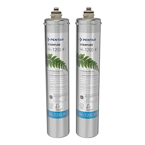 Everpure H-1200 Water Filter Replacement Cartridge Set (EV9282-01)