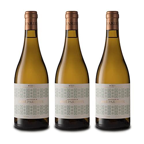 Vino Blanco Dulce Apasionado de 50 cl - D.O. Rueda - Bodegas Jose Pariente (Pack de 3 botellas)