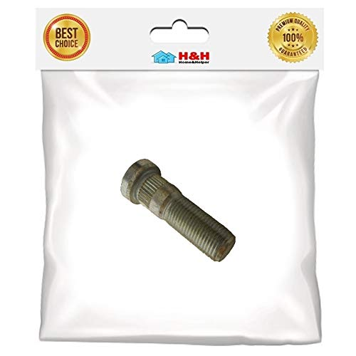 Great Deal! H&H) New 1/2-20 x 2 Press-in Trailer Wheel Stud Boat Replacement Repair Hub for UFP Tra...