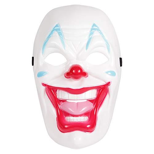 shenky Masken für Fasching Karneval Halloween Anonymous Vendetta (Clown 1)