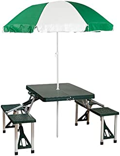 coleman folding picnic table