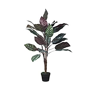 XZWYB Potted Shop Window Display Large Artificial Tree Nordic Artificial Feather Simulation Tree Home Floor Plant Decoration Feather Bamboo Large