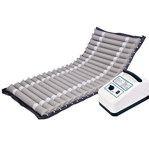 LUCKY Orthopädisches Sitzkissen mit Gel-Schicht, Medical Anti-Dekubitus-Luftmatratze, einzelne Welle rollt über aufblasbare Kissen, häusliche Pflege for ältere gelähmte Patienten im Bett, 190 * 85cm