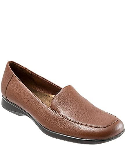 [トロッターズ] シューズ 25.0 cm パンプス Jenn Slip-On Leather Loafers Medium Bro レディース [並行輸入品]