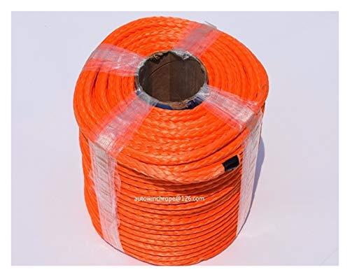 Zhaolan-Digital Tester 10mm * 100m orange Synthetic Winch Seil, Seilwinde, Off Road Seil, ATV Winch Linie Autozubehör Autoteile (Color : A)