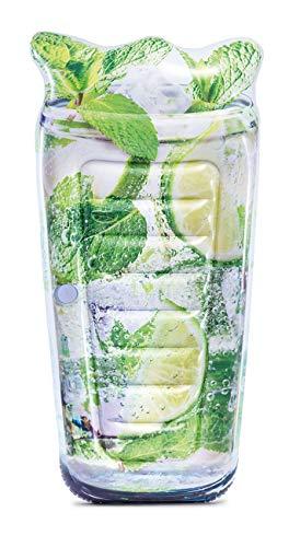 Intex Luftmatratze Mojito Drink 178 cm mit Getränkehalter