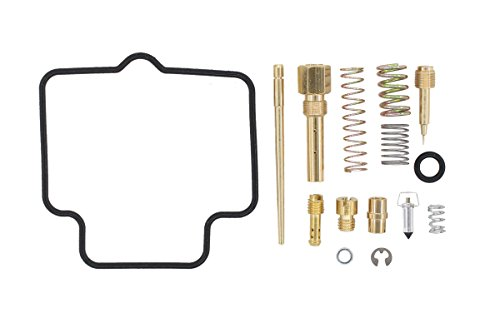 MOTOKU Carburetor Rebuild Carb Repair Kit for Suzuki Ozark 250 LTF250 2x4 ATV 2002-2009 2012 LTF 250