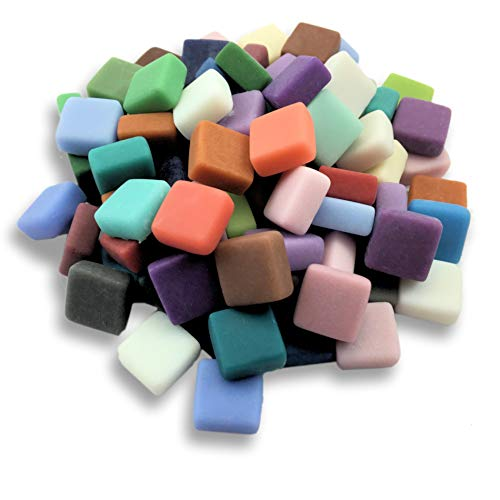 Sweetie Matte Glass Mosaic Tile - All The Fixin's Mix
