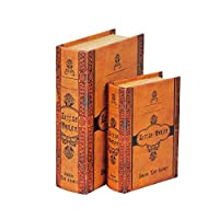 ブック型収納ボックス BOOK BOX 2個セット 28262