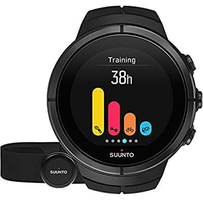 Suunto Spartan Ultra Titanium HR Watch All Black One Size