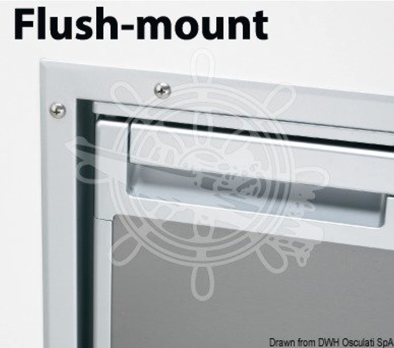 Osculati Waeco Flush Mount Frame for Coolmatic Cr140 Fridge