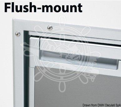 Frame voor WAECO Coolmatic koelkasten Variant: Frame Flush Mount, voor koelkast model: CR50 Chrome