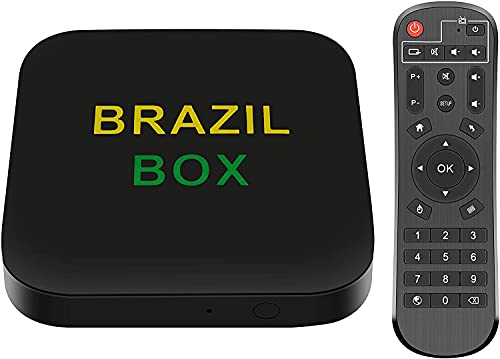 2021 Newest Brazil IPTV Box for TV and Movies Powerful Hardware Support Your Video System Better and Provide 15000+ Videos for You.