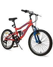 دراجة جبلية مقاس 20 انش من سبارتان - برتقالي