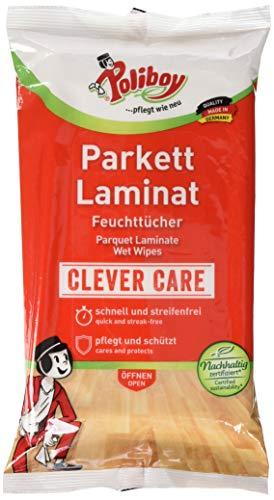 Poliboy Parkett/ Laminat-Feuchttücher, 15 Stück