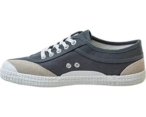 Kawasaki Unisex Retro Canvas Shoe Green Grey