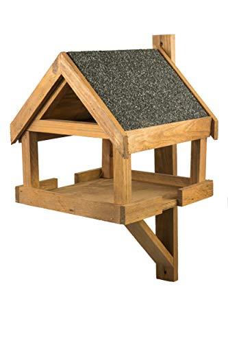 Casetta per uccelli resistente alle intemperie in legno, mangiatoia per uccelli, mangiatoia per...