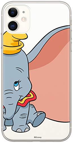 ERT GROUP Original & Offiziell Lizenziertes Disney Dumbo Handyhülle für iPhone 11, Hülle, Hülle, Cover aus Kunststoff TPU-Silikon, schützt vor Stößen & Kratzern