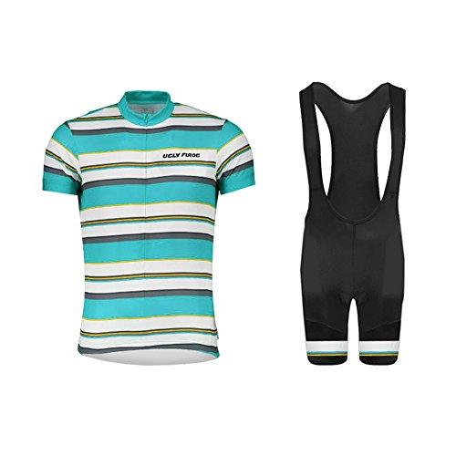 Uglyfrog Rennrad MTB Anzüge Männer Fahrrad-Club Cycling Team Bekleidung Summer Style Trikots & Shirts/Radtrikot Set Inventar/Zum halben Preis